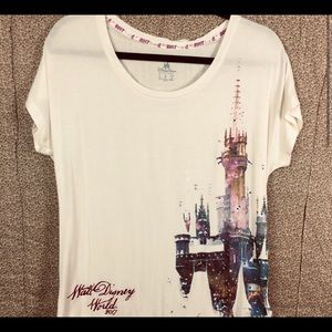 New Disney Parks 2017 Walt Disney Castle Shirt